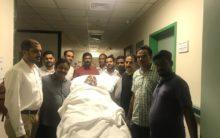 Embassy repatriates Hyderabadi patient lying in Saudi Hospital