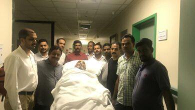 Photo of Embassy repatriates Hyderabadi patient lying in Saudi Hospital