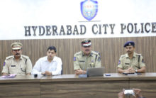 CP  Addressing Media conference