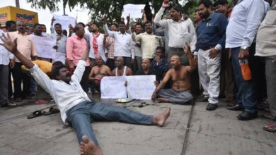 Photo of RTC employees not allowed protest march in Hyderabad