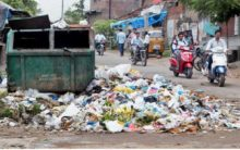 Overflowing garbage bins and mosquito menace worry residents