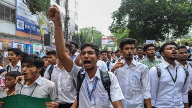 Photo of Bangladesh student killing sparks university protests