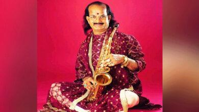 Photo of Saxophonist Kadri Gopalnath passed away in Mangaluru