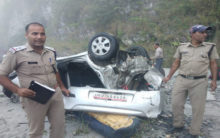U'khand: 5 dead, two injured after car plunges into deep gorge