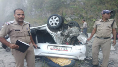 Photo of U'khand: 5 dead, two injured after car plunges into deep gorge