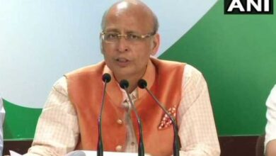 Photo of Congress's Singhvi calls Savarkar 'accomplished man'