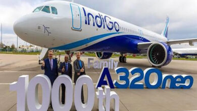 Photo of Airbus delivers 1,000th A320neo family aircraft to IndiGo