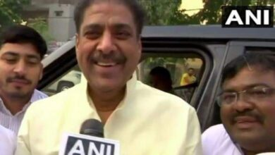 Photo of Ajay Chautala released from Tihar Jail on furlough