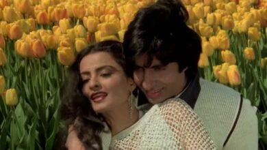Photo of Here's a glance at iconic Amitabh-Rekha pair's journey in films