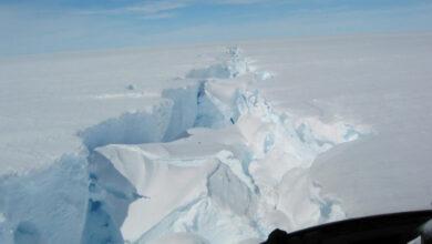 Photo of 315 billion tonnes of iceberg breaks off Antarctica