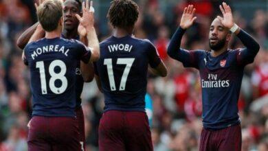Arsenal's Alex Lacazette returns to full training