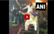 Asaduddin Owaisi woos voters with dance, video goes viral