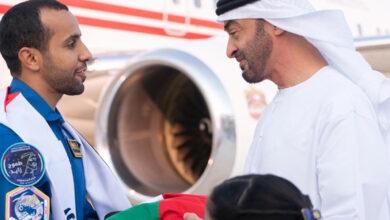 Astronaut Hazzaa returns home to hero's welcome
