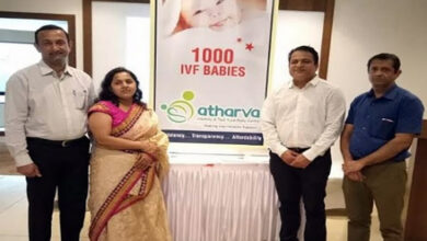 Photo of Atharva IVF crossed figures of over a live 1000 test tube babies