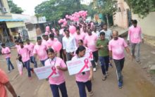 Hyderabad: Walkathon for breast cancer awareness