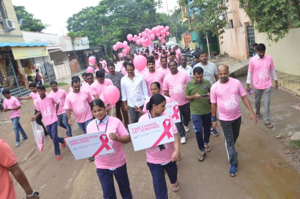 Hyderabad: Walkathon for breast cancer awareness