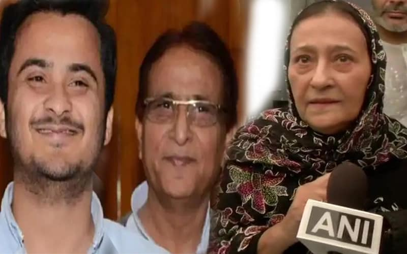 After father-son, it is now mother-son in UP Assembly