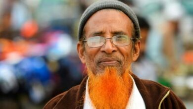 Photo of Hues of orange are the new grey for Bangladesh beards