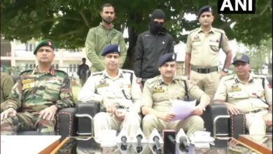 Photo of Nabbed JeM terrorist was trying to kill a cop: IG Baramulla