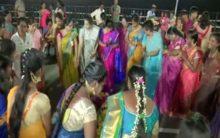 Telangana: Women celebrate Bathukamma in Hyderabad