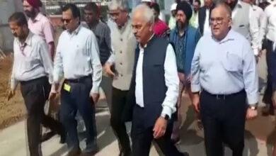 Photo of Home Secretary inspects Kartarpur corridor