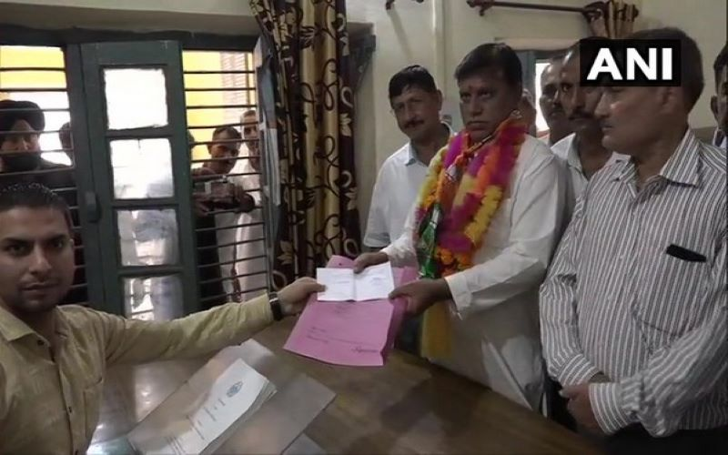 J-K: Candidates file nominations for BDC elections in Kathua