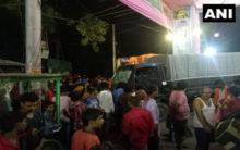 Bihar: Police van loses control, at least eight injured