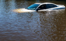 Abdul Aziz, 5 others washed away with car