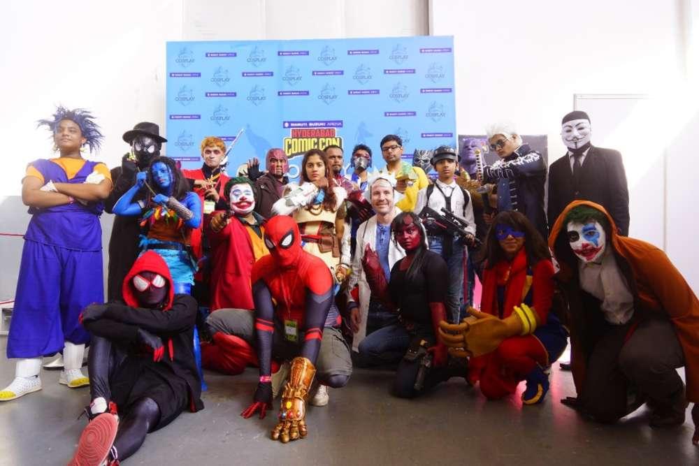 Hyderabad Comic-Con kicks off with a huge fan footfall