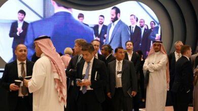 Photo of Saudi 'Davos in desert': Glitz, smiles, hidden name cards