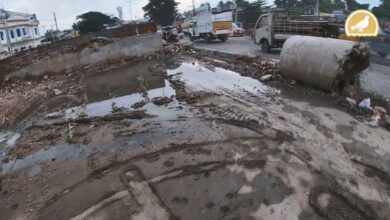 Photo of Damaged road poses problems for Citizens