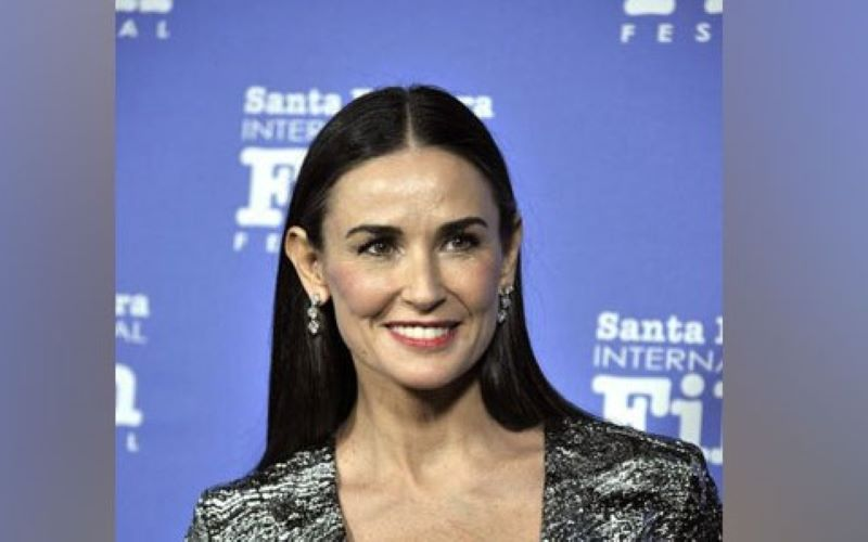 Demi Moore's 'Inside Out' enters best sellers list