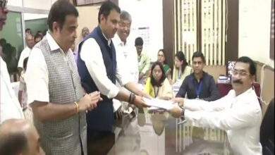 Photo of Maha polls: Fadnavis files nomination from Nagpur South West