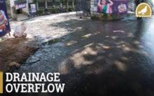 Hyderabad: JNTU students fume over drainage overflow