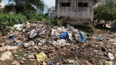 Photo of Once a Community Hall, now a massive dumping yard