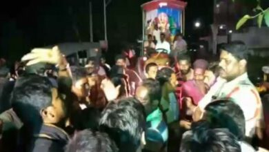 Photo of Andhra: 2 injured in clash during Dussehra procession