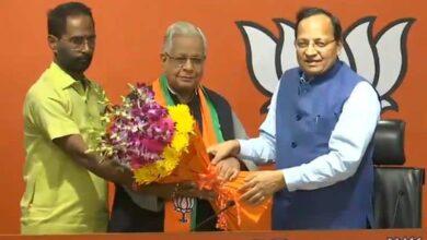 Photo of Ex-UP Congress leader Ammar Rizvi joins BJP