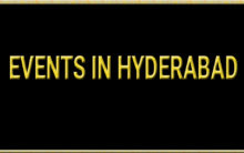 Events In Hyderabad (19-10-2019)