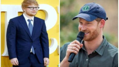 Photo of Ed Sheeran, Prince Harry tease fans with upcoming collaboration