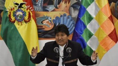 Photo of Bolivia's Morales declared winner in disputed election