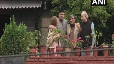 Photo of NC delegation meets Farooq Abdullah