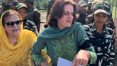 Photo of J&K: Farooq Abdullah's  sister, daughter detained by police