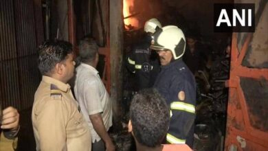 Photo of Mumbai: Fire breaks out at warehouse in Sion