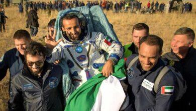Photo of Astronaut Hazza returns to Earth