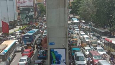 Photo of RTC strike, rains and absence of cops send traffic out of gear