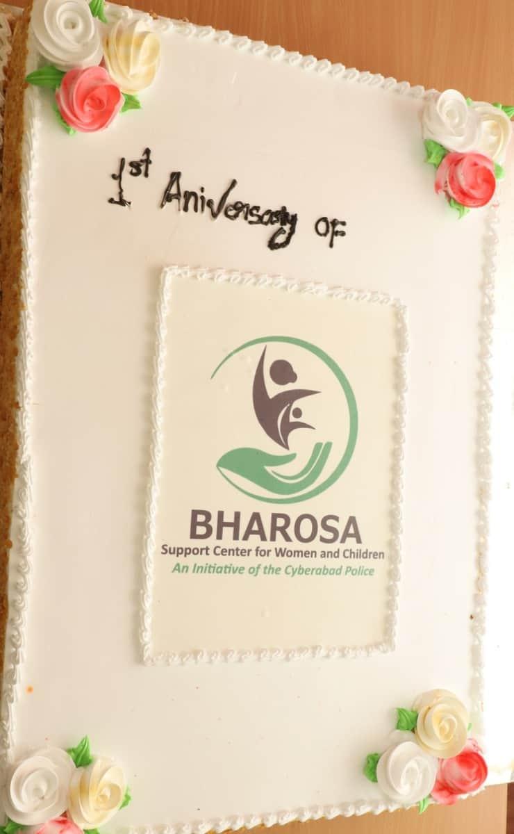 Cyberabad Police celebrates first year Anniversary of Bharosa