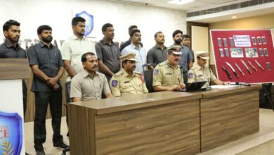 Photo of Hyderabad: Police nab notorious rowdy and his associate