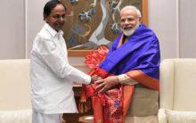 KCR meet Modi