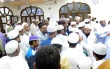 Hyderabadi youth conducted a Beautiful Islamic Nikah Ceremony