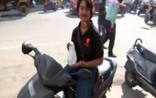 'No job is small or big': Hyderabad's food delivery girl